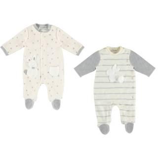 Pijama - Set 2 pijamas tundosado