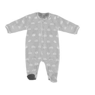 Pijama - Pijama tundosado estampado