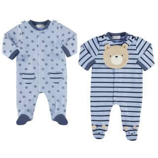 Pijama - Set 2 pijamas y babero