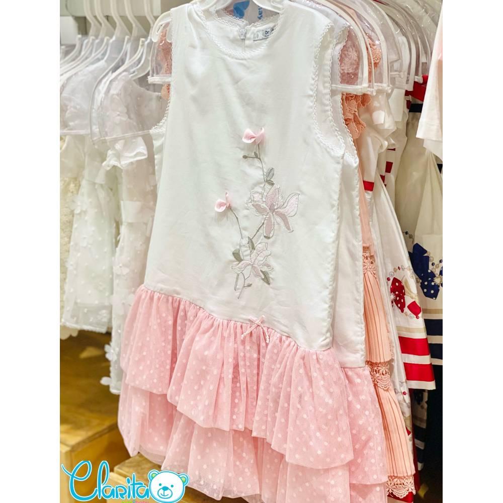 Vestido Falda Tul de Pepas