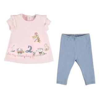 Conjunto - Conjunto camiseta volantes y leggins